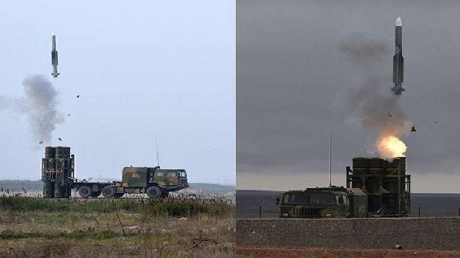 شاهدوا.. صواريخ جديدة تضرب الأهداف المعادية في أجواء المملكة