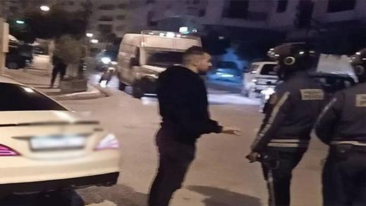 توقيف هشام الملولي بطنجة بسبب خرقه حالة الطوارئ