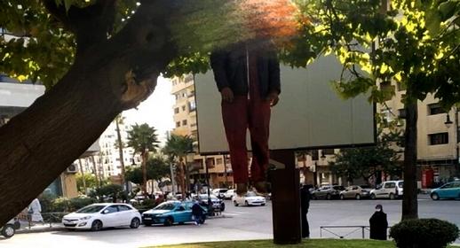 هذه حقيقة تداول شريط فيديو يوثق انتحار أستاذ متعاقد شنقا بالشارع العام