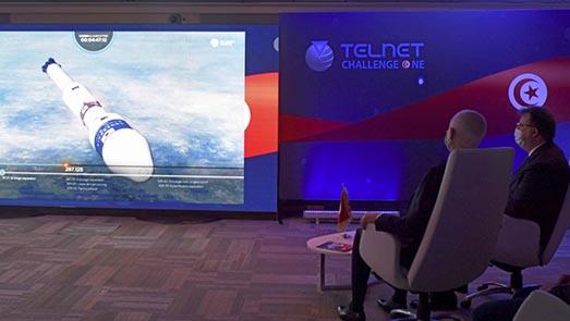 تونس تطلق أول قمر صناعي محلي الصنع بالكامل