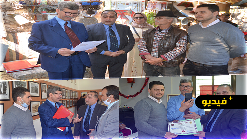 المنظمة المغربية للملكيين عبر العالم في زيارة لمواقع سياحية وأثرية وثقافية بإقليم الناظور