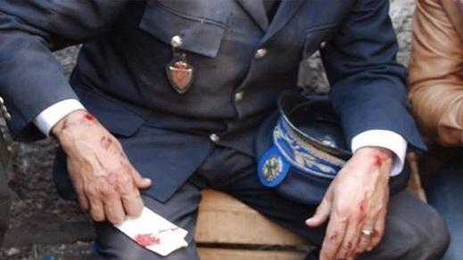 مديرية الأمن تمنح ترقية استثنائية للشرطي الذي تم الإعتداء عليه بالسلاح الأبيض