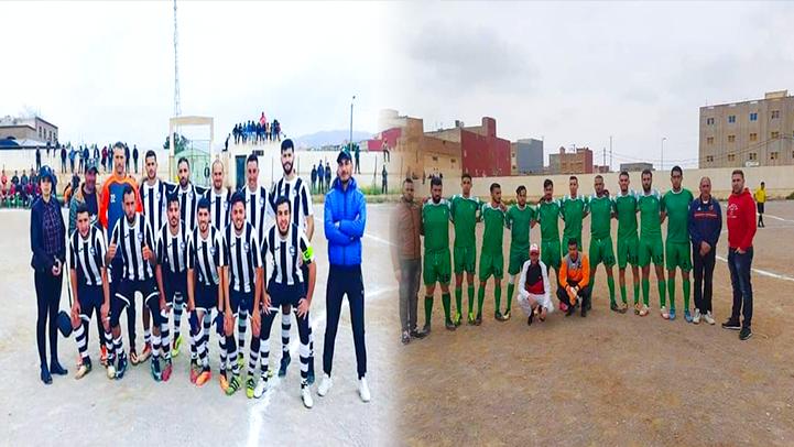 فريق أيت سعيد لكرة القدم يحقق فوزا مهما على حساب أمل تزاغين بهدفين مقابل هدف وحيد
