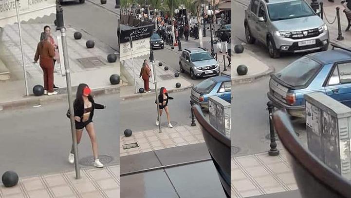 هذه أسباب تجول فتاة شبه عارية في شوارع بركان