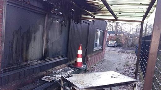 اعتقال شخص أضرم النار بمسجد بمدينة خاودا الهولندية