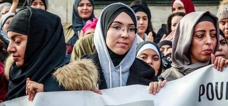 التصويت على قانون جديد معادي لارتداء الحجاب  بفرنسا