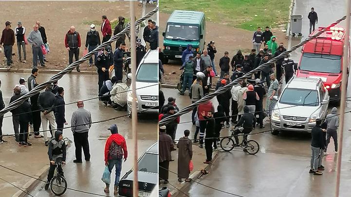 بسبب غياب علامات التشوير.. سيارة تصدم سائق دراجة نارية في حادثة سير بمدينة بني انصار
