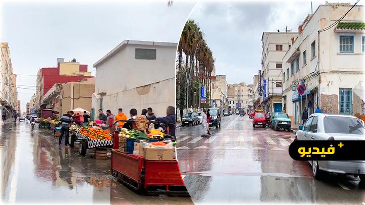 شاهدوا.. جولة بمدينة الناظور في أول يوم من رمضان قبل أذان المغرب