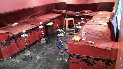 الناظور.. توقيف 40 شخص ومسير وصاحب مقهى للشيشا بسبب خرق حالة الطوارئ