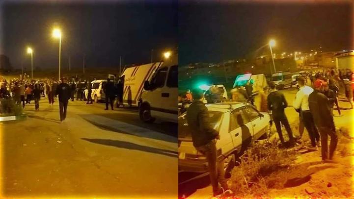 مصلون يتمردون على السلطات بإقامة صلاة التراويح في الشارع العام