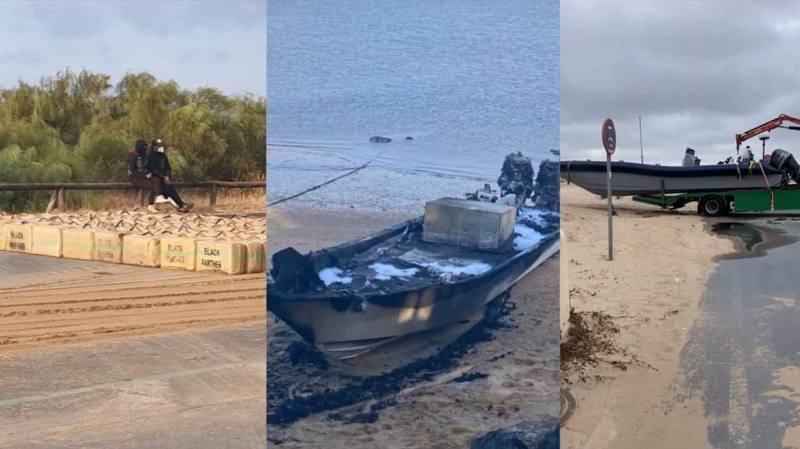 شاهدوا.. العثور على أطنان من المخدرات على السواحل الإسبانية يرجح انطلاقتها من الناظور