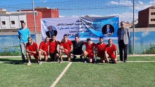 ملاعب القرب لكرة القدم بحي براقة تحتضن النسخة الأولى من دوري المرحوم أحمد المحوتي