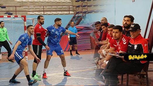 الهلال الرياضي لكرة اليد يحقق فوزه الثاني خلال الموسم على حساب نادي اتحاد طنجة
