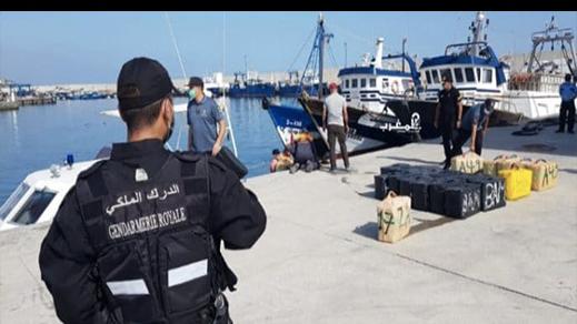 الناظور.. البحرية الملكية تحبط عملية تهريب المخدرات وتحجز ثلاثة أطنان