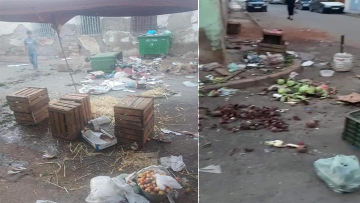 سوق عشوائي يحول حياة ساكنة سلوان إلى جحيم والسلطات تكتفي بدور المتفرج