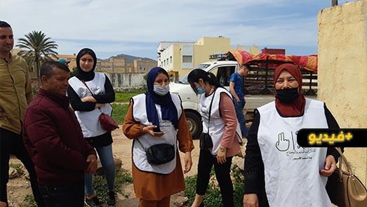 جمعية الذاكرات لليتيم والمحتاج توزع مساعدات غذائية ومادية على عشرات الأسر بمدينة الناظور