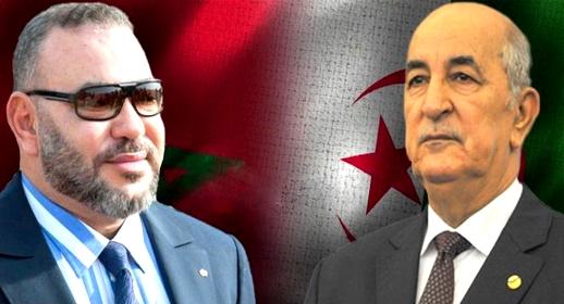 الملك محمد السادس يتوصل ببرقية من الرئيس الجزائري