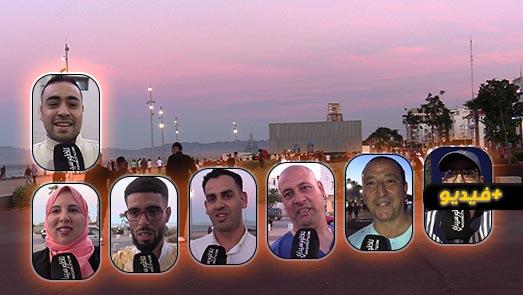 بعد شهر من الإغلاق الليلي وحظر التجوال.. الناظورييون يحجون بكثافة يوم العيد لكورنيش المدينة