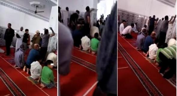 شاهدوا.. مصلي مغربي يلوم خطيب الجمعة بسبب تجاهله الدعاء لشهداء غـزة