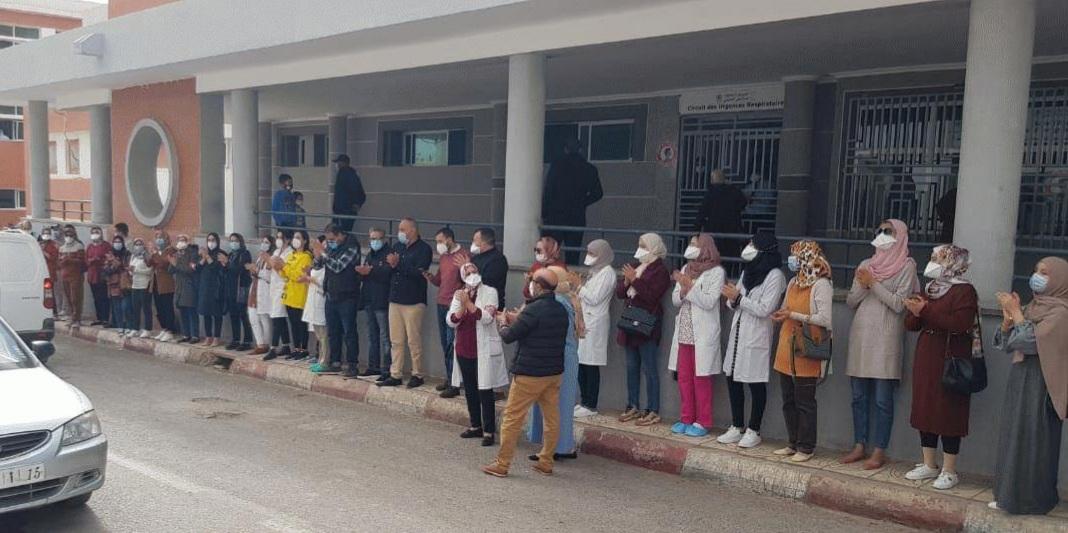 الممرضون وتقنيو الصحة يشلون المستشفيات يومي 25 و 26 ماي