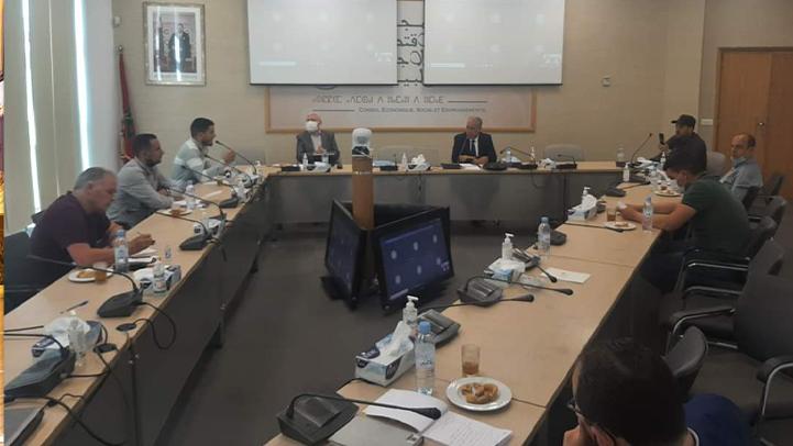 الشامي يستقبل تنسيقية المناطق التارخية للكيف بإقليمي الحسيمة والشاون