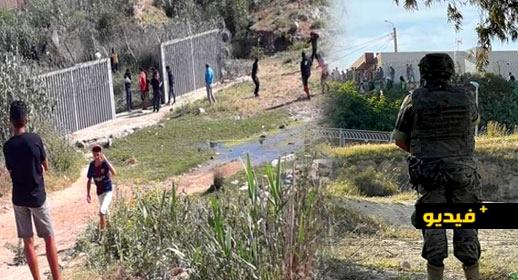 شاهدوا.. الحرس المدني الإسباني يستعمل الرصاص الحي في مواجهة مقتحمي معبر ميليلة