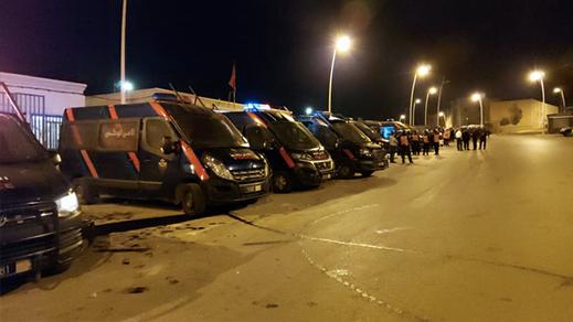 بعد عمليات اقتحام السياج الحدودي.. الأمن يعتقل مئات المهاجرين من جنسيات مختلفة