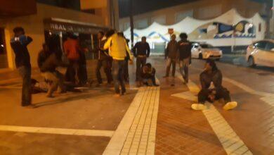 شاهدوا.. الإسبان يتظاهرون مجددا أمام سفارة المغرب بمدريد