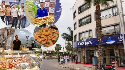 خدمات راقية وجودة عالية.. افتتاح أفخم مطعم متخصص في أطباق السمك بالناظور