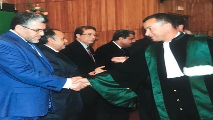 ابن الناظور القاضي الشاب عبد الكريم بالهدي يحظى بالثقة الملكية لشغل منصب مستشار بمحكمة الإستئناف بالحسيمة