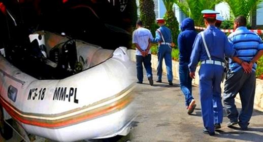عناصر الدرك الملكي بسلوان تفكك عصابة إجرامية مختصة في صناعة قوارب الهجرة السرية