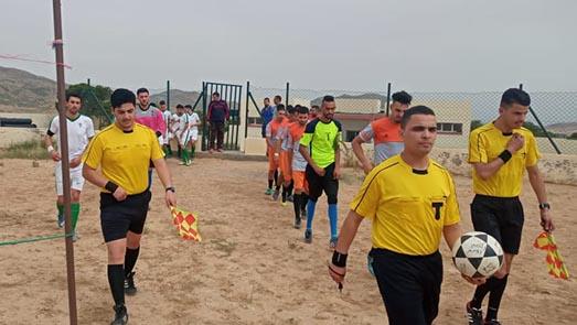 نادي أيت سعيد يمطر شباك فريق نجم صاكة بخماسية
