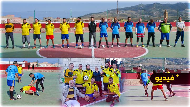 جمعية الكرامة تفتتح دوري كرة القدم المصغرة في نسخته الرابعة ببني شيكر