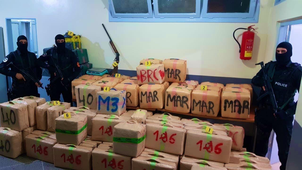 توقيف ثمانية أشخاص ينتمون لشبكة إجرامية للتهريب الدولي للمخدرات