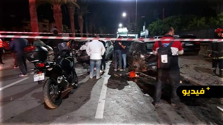 فاجعة.. ثلاث قتلى في حادث سير مروع خلال تصوير فيديو كليب وسط الدارالبيضاء