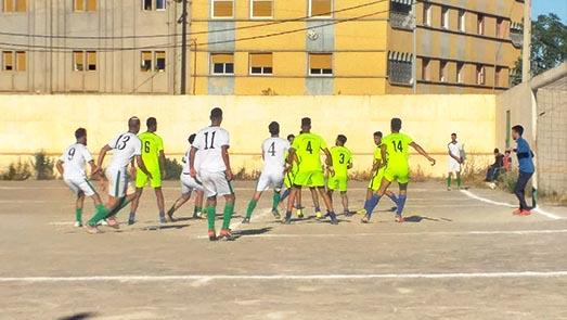 فريق نادي ايت سعيد يفوز بنتيجة دفين لصفر على حساب شباب الريف تيزطوطين