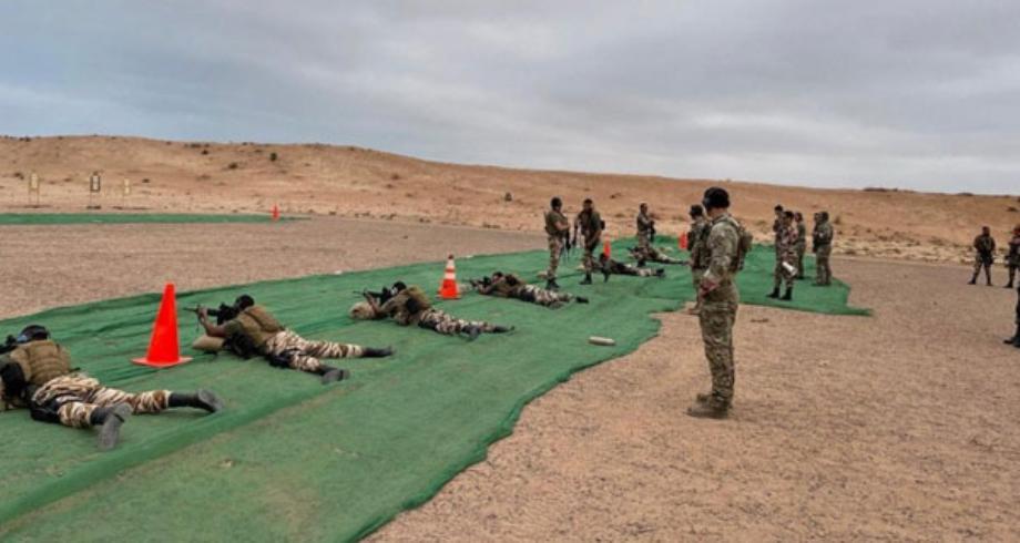 التدريبات العسكرية المغربية الأمريكية تتواصل بمنطقة المحبس