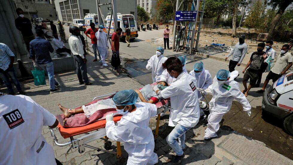 الهند تسجل رقما قياسيا عالميا في عدد وفيات كورونا خلال يوم واحد