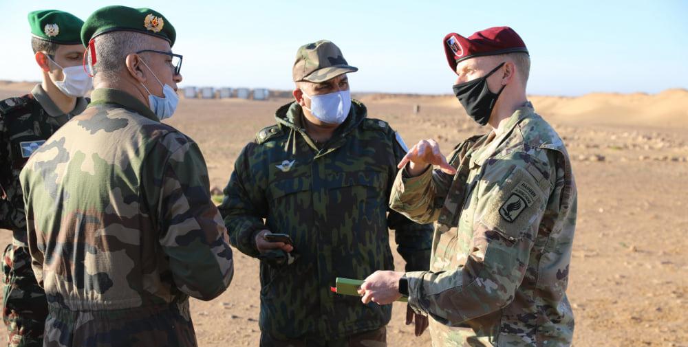 ملاحظون من 13 دولة يتابعون التدريبات العسكرية المغربية الأمريكية