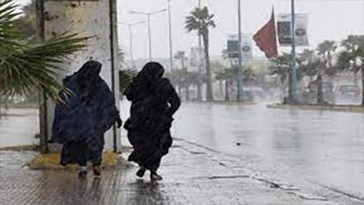 مديرية الأرصاد الجوية تؤكد استمرار زخات مطرية رعدية بمنطقة الريف