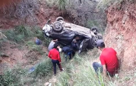 وقوع سيارة في منحدر جبلي يخلف أربع مصابين بالدريوش