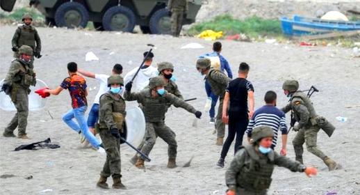 خطير.. وثائق مسربة تكشف خطة الجيش الإسباني لمواجهة واعتقال المهاجرين السريين