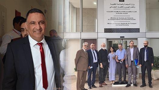 حميد قوبع يمثل جهة الشرق في الجامعة الوطنية لحلاقة بالمغرب