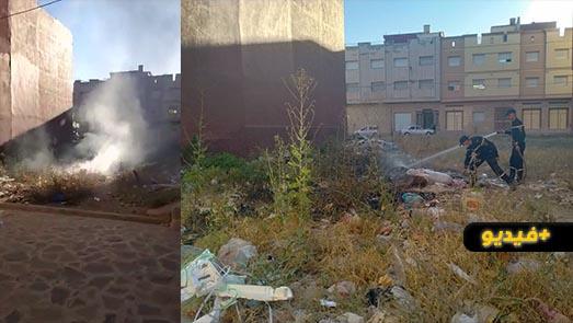 كارثة بيئية وصحية تهدد ساكنة حي لعراصي وسط غياب مسؤولي قطاع النظافة