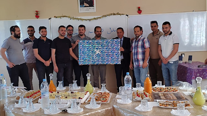 تكريم الأستاذ الحسين أعراب بمناسبة احالته على التقاعد بدار الكبداني