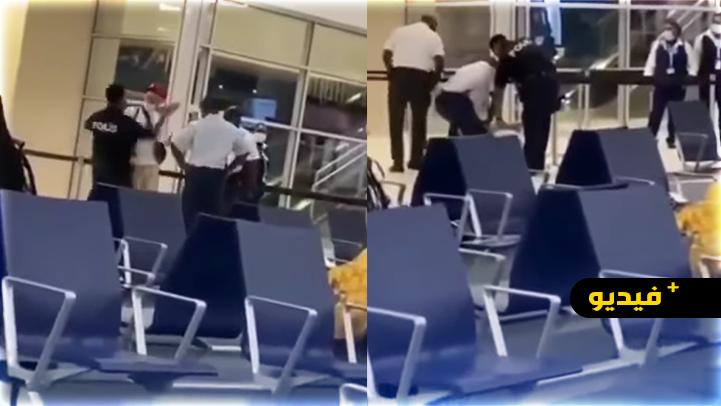 شاهدوا.. رجل أمن يصفع مغني راب بهولندا بسبب فحص كورونا مزور