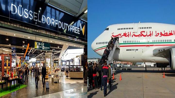 """مغاربة ألمانيا بجهة """"دوسلدورف"""" يناشدون الخطوط الملكية برحلات إضافية"""