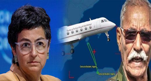وشهد شاهد من أهلها.. الجيش الإسباني يكشف وقوف وزيرة الخارجية وراء السماح بدخول طائرة زعيم البوليساريو