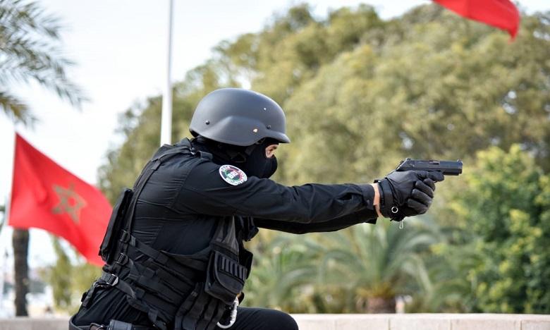 شرطة الناظور تستعمل الرصاص لتوقيف شخص خطير