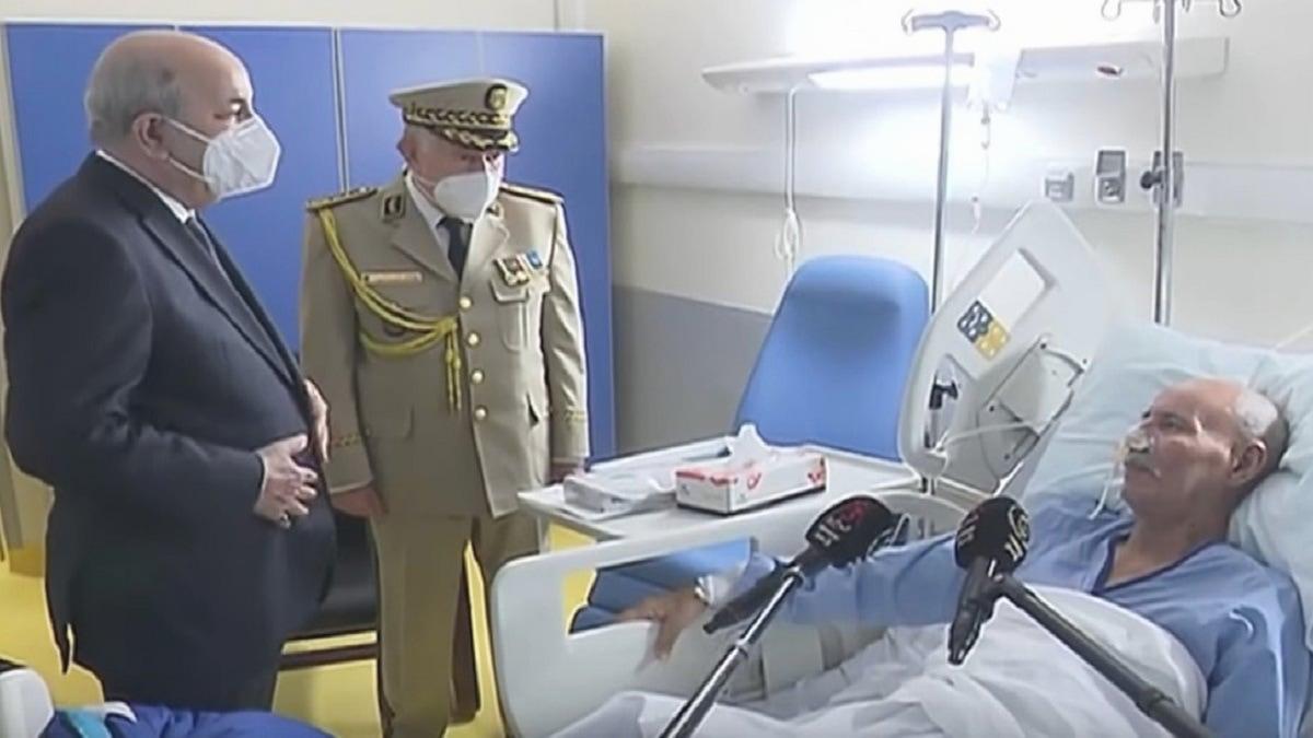 القضاء الإسباني يحقق في هوية الشخص الذي أرسل الإسعاف لنقل زعيم البوليساريو